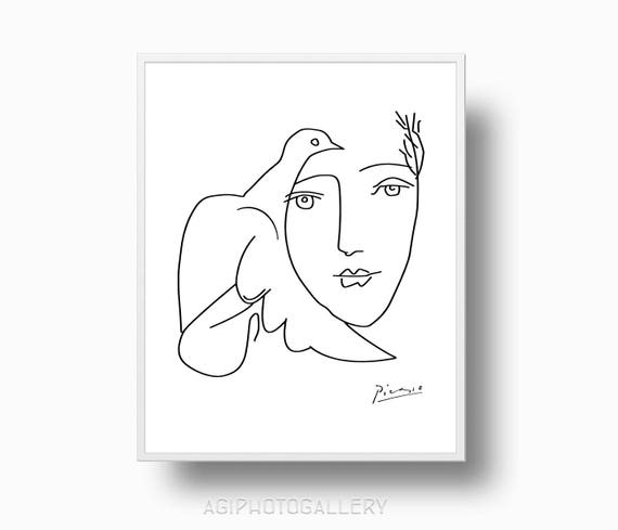 how to draw picasso style