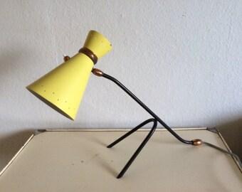 Rare au milieu du siècle moderne lampe Stilnovo