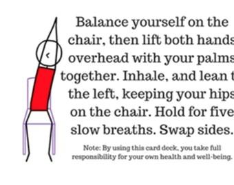Chair/Office Yoga Card Deck