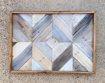 Reclaimed Wood Wall Art   whitewashed   barn wood   reclaimed   art