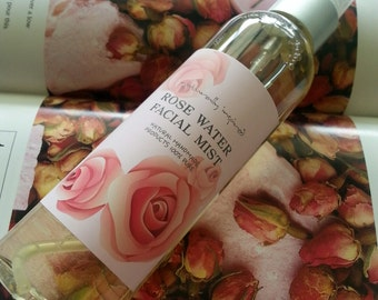 Organic and Pure 100% Bulgarian Rose water Spray