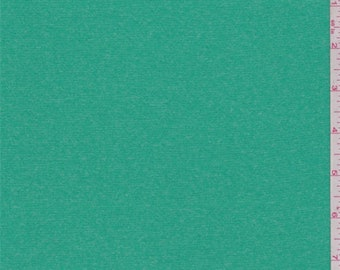 Heather Spring Green Lightweight Activewear, Fabric By The Yard