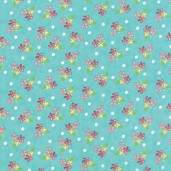 Corey Yoder Little Miss Shabby Prairie Sprigs Quilt Fabric. 29003-18