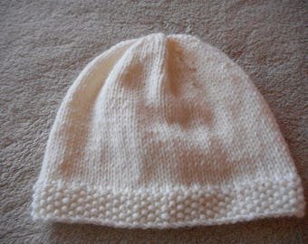 Baby hat, wool (choice of color)