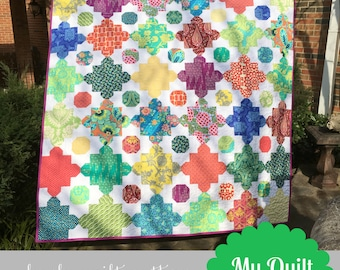 Stems and Stones Quilt Pattern