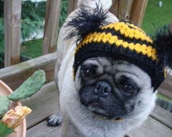 Dog Hat - Bumble Bee/ Made to Order