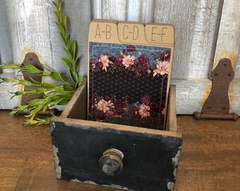 Address Box, Wedding Guest Book, Guest Book Alternative, Address Cards, Floral