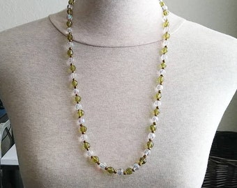 Glass Beaded Necklace