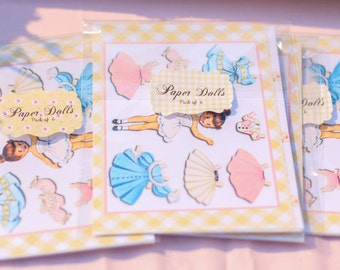Vintage Paper Doll Party Gift Pack 1 Paper Doll Pack