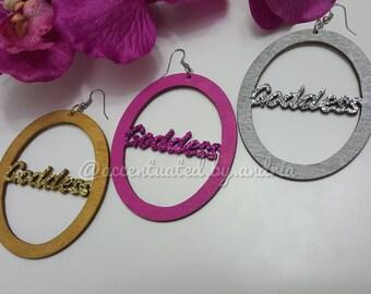 Goddess Statement Earrings