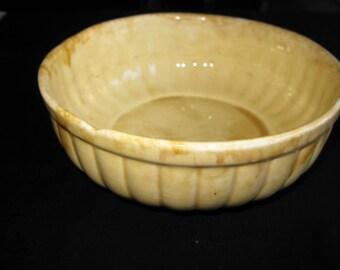 FRANK MORENO Ceramics Bowl Yellow DP-4 California Pottery