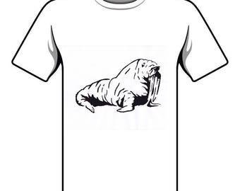 Handmade Walrus T-shirt