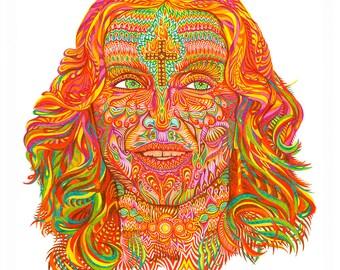 Madonna - Fine Art Print
