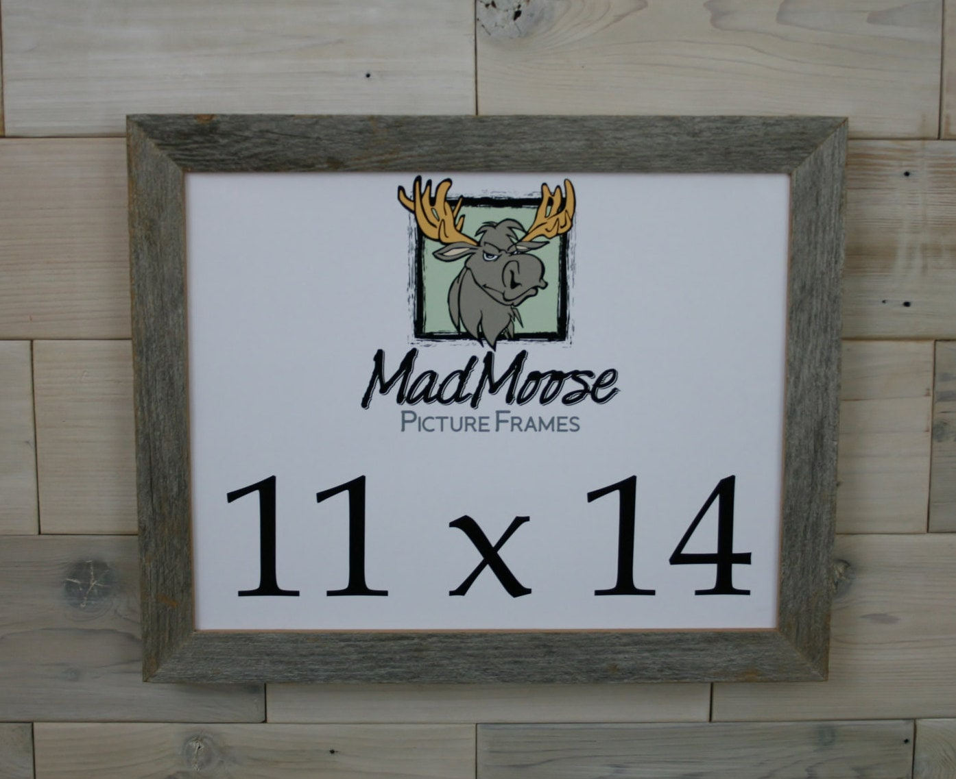 11x14 BarnWood [Chunky x 1.25] Picture Frame... a.k.a. Rustic ...