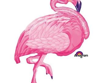 """Summer Party BALLOON, 35"""" Flamingo Balloon"""