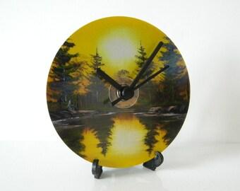CD Clock - Painting (Print)