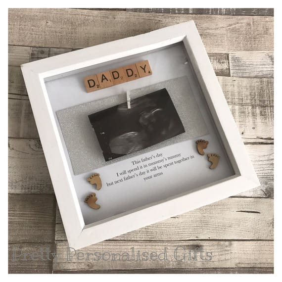 Happy Father\'s Day daddy from the bump scrabble tile glitter ...