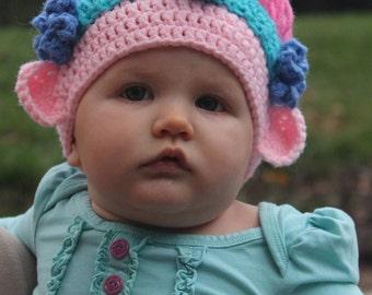 Crochet Princess Poppy hat