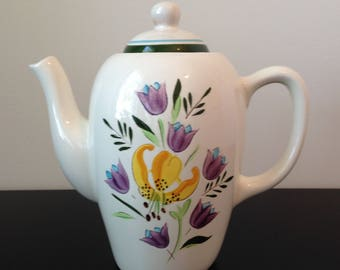 "Vintage Stangl ""Country Garden"" Coffee Pot"