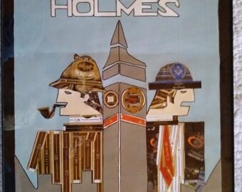 Sherlock Holmes cigar band poster