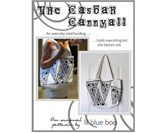 DIY PDF Pattern and Tutorial - The Casbah Carryall - One Size