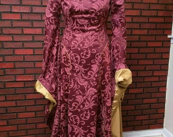 Cersei Lannister dress GOT inspired cosplay, Game of Thrones costume, Cersei Lannister dress, made to order, any color.