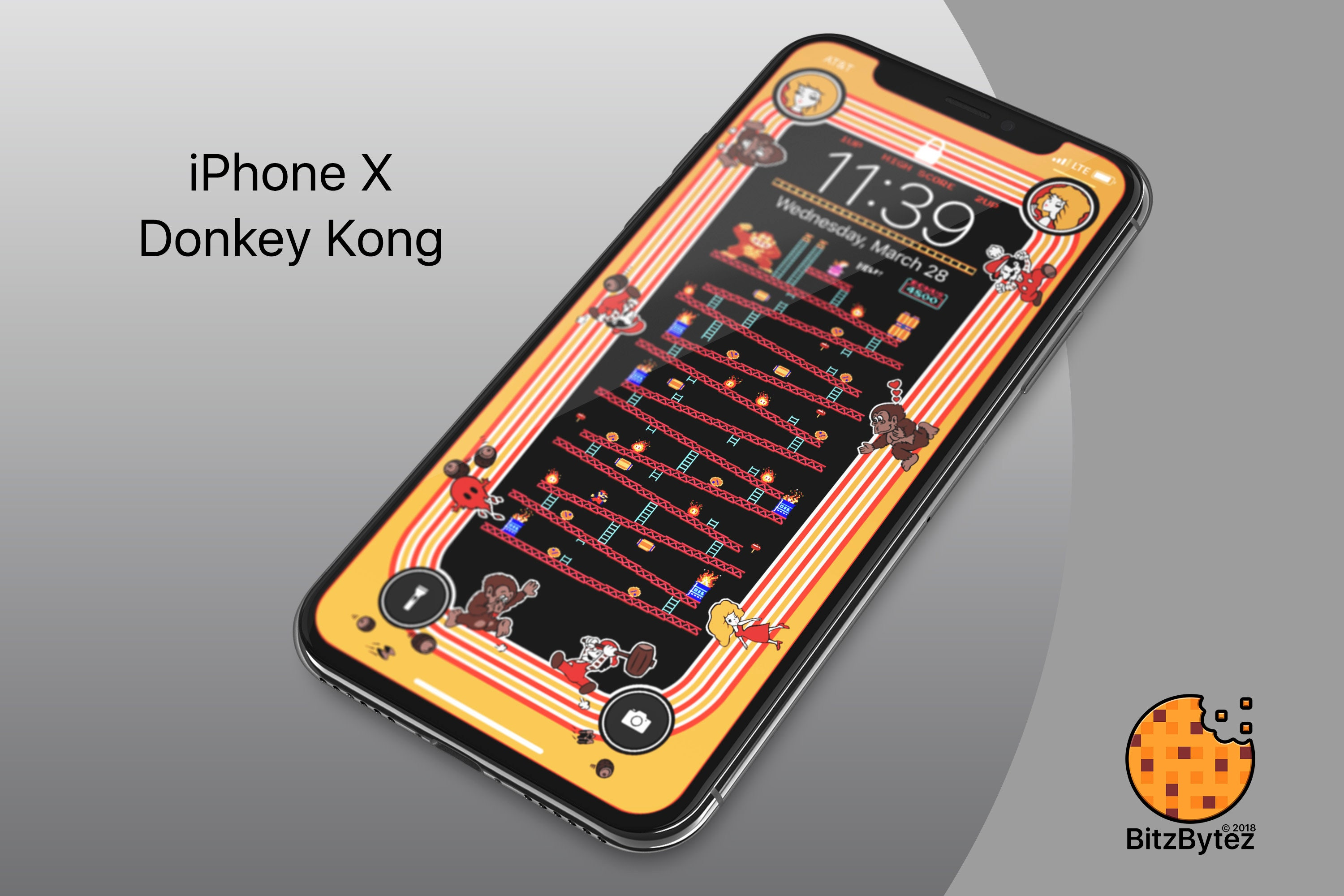 Fantastic Wallpaper Home Screen Donkey Kong - il_fullxfull  Perfect Image Reference_74957.jpg?version\u003d1