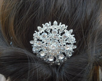 Faith Collection, Rhinestone Hair Comb, Victorian Art Deco Bridal Hair Comb, Vintage Style Hair Accessories, Wedding Hair Comb