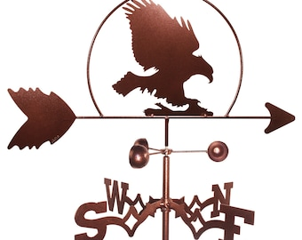Hand Made Bald Eagle Hawk Bird Weathervane NEW