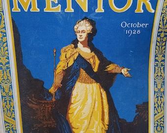Set of 3 Mentor Magazine, Vintage Magazine 1920s