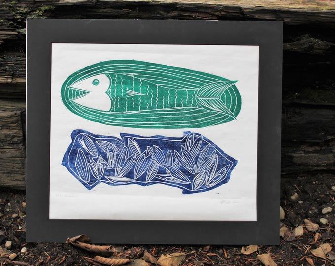 Fish and Moooules! Print