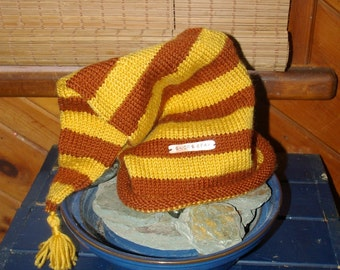 Gnome Gear - Wool Hat - Gold n' Brown