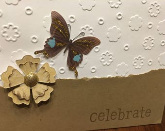 Celebrate - set of 2 cards with envelopes