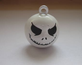 Bell ringing in the shape of ghost white 22mm (14)-