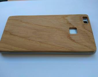 Coque de téléphone en bois lite Huawei P9