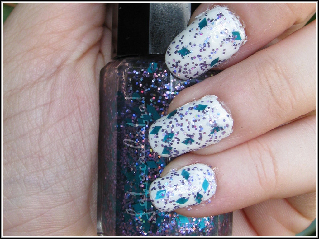 Diamond Dogged - MLP / Rarity Inspired Labracadabra Glitter Nail ...