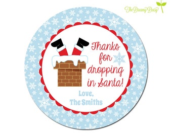 Santa Cookie Plate for Kids - Personalized Santa Cookie Plate - Santa Christmas Plate - Personalized Santa Face Plate for Kids