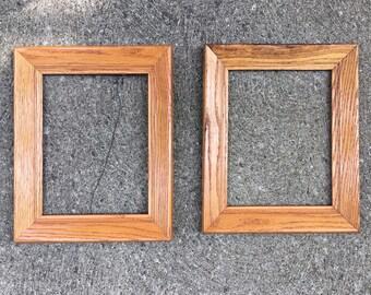 Wood Frame Art Frame Wood Picture Frame Vintage Frame Wedding Frame Photo Frame Art Frame 8x10 Frame Antique Frame Old Frame for Mirror