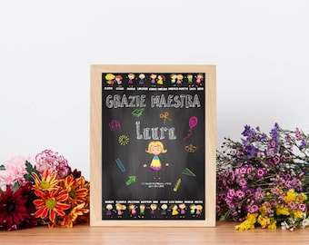 Personalized Master Gift-Children's name and features-year end gift