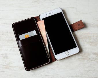 iPhone 7 Plus wallet case, iPhone 7 Plus case, iphone 7 plus case leather, iphone 7 plus leather case, iPhone 7 Plus card case
