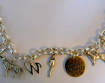 Harry Potter Marauders Inspired Charm Bracelet