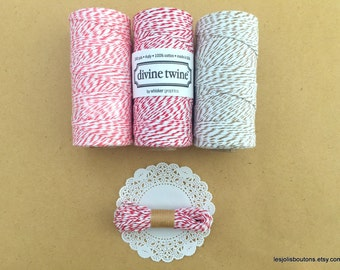 Divine Bakers Twine 10m Red, Coral or Cappuccino