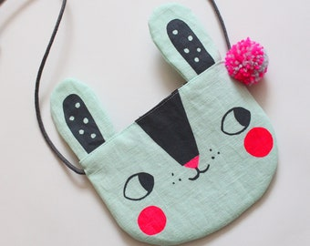 Bunny Rabbit Bag - Mint