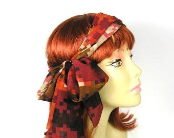 Head Scarves Hair Scarves Women's Head Scarves Women's Hair Scarves Bohemian Hair Scarves Bohemian Head Scarves Chiffon Hair Scarves