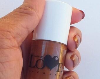 Brown nail polish- Beautifully Brown