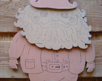 Leprechaun, Wood (Unfinished); St. Patrick's Day Decoration; Leprechaun Craft Kit