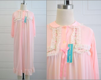 1960s NOS Pink Night Gown