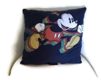 Acid Mickey Mouse Pillow