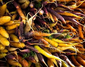 Carrots - Fine Art Print - Photograph - Wall Art - Kitchen Decor - Food Photography