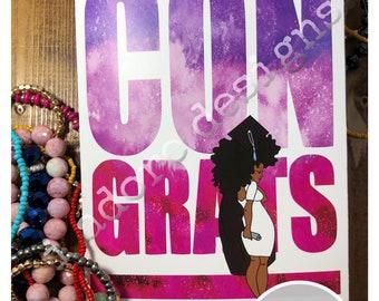 African American Graduation Cards
